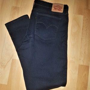Levi's 711 Skinny Patterned Jeans